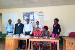 The Water Project: Kaimosi Demonstration Secondary School -  Teachers
