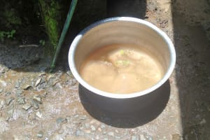 The Water Project: Lwanda Secondary School -  Water From A Plastic Tank