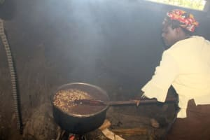 The Water Project: Lumakanda Township Primary School -  School Cook In The Kitchen