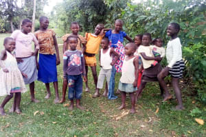 The Water Project: Musango Community, Ndalusia Spring -  Community Children