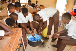 The Water Project: Kithoni Secondary School -  Soap Training