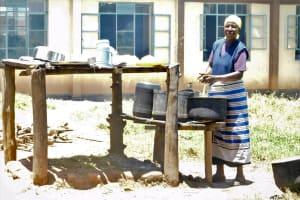The Water Project: Namanja Secondary School -  School Cook