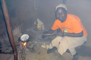 The Water Project: Emulakha Community, Nalianya Spring -  Cooking In Kitchen