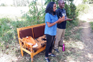 The Water Project: Luyeshe Community, Matolo Spring -  Trainers
