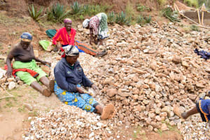 The Water Project: Kala Community A -  Hand Dug Well Construction