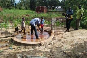 The Water Project: Eshitowa Community -  Eshitowa Monitoring Visit