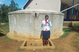 The Water Project: El'longo Secondary School -  Margaret Egesa