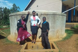 The Water Project: El'longo Secondary School -  Thumbs Up For Reliable Water
