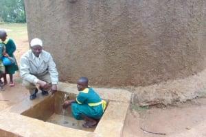 The Water Project: Buhunyilu Primary School -  Headteacher Gilbert Lichina And Rebeccah Migare