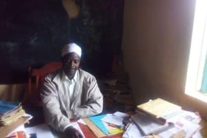 The Water Project: Buhunyilu Primary School -  Headteacher Gilbert Lichina