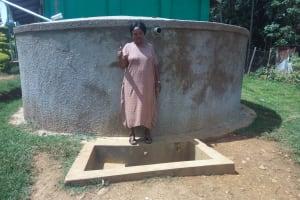 The Water Project: Malinya Girls Secondary School -  Principal Rita Meli