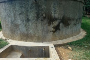 The Water Project: Malinya Girls Secondary School -  Water Tank A Year Later