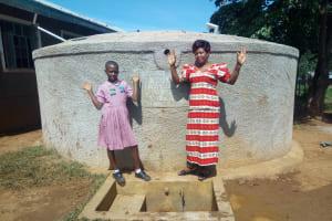 The Water Project: Irenji Primary School -  Venus Muhonje And Rodah Muhati