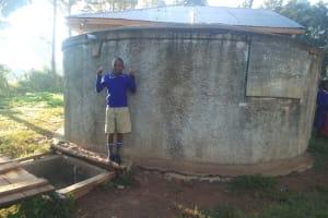 The Water Project: Iyenga Primary School -  Zebedee Alubitsia