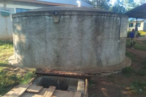 The Water Project: Iyenga Primary School -  The Rainwarter Tank A Year Later