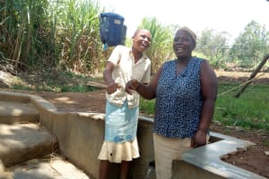 The Water Project: Shitoto Community, William Manga Spring -  Beatrice Kenneth And Elizabeth Alumasa