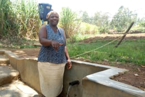 The Water Project: Shitoto Community, William Manga Spring -  Beatrice Kenneth