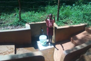 The Water Project: Irenji Community, Shianda Spring -  Bravin Mumala