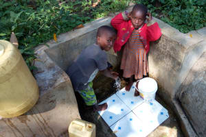 The Water Project: Shitoto Community, Laurence Spring -  Reliable Water