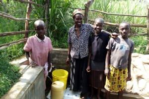 The Water Project: Futsi Fuvili Community, Patrick Munyalo Spring -  Naomi Osula And Stella Anne