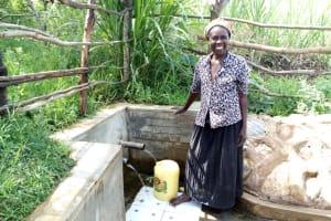 The Water Project: Futsi Fuvili Community, Patrick Munyalo Spring -  Naomi Osula