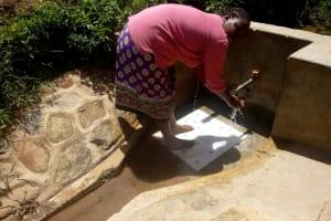 The Water Project: Kakubudu Community, Fred Lagueni Spring -  Agripinna Livivi