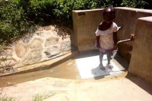The Water Project: Kakubudu Community, Fred Lagueni Spring -  Ashely Lukatsiva