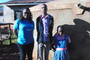 The Water Project: Mudete Primary School -  Field Officer Christine Luvandwa Robert Amiani And Shazleen Kahetza