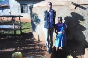 The Water Project: Mudete Primary School -  Robert Amiani And Shazleen Kahetza
