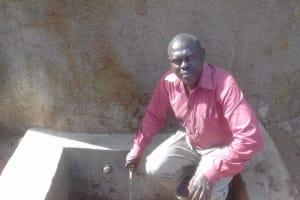 The Water Project: Gidagadi Primary School -  Teddy Liabeha