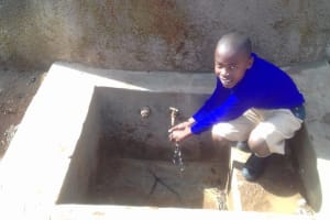 The Water Project: Gidagadi Primary School -  Emmanuel Mbali