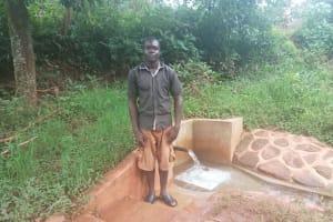 The Water Project: Mtao Community, Tifina Odari Spring -  Bruce Silas