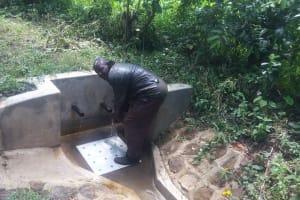 The Water Project: Matsakha A Community, Kombwa Spring -  Kefa Kombwa