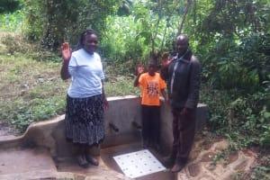 The Water Project: Matsakha A Community, Kombwa Spring -  Simon Kombwa And Kefa Kombwa