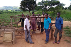 The Water Project: Rubani-Kyawalayi Community -  Group Photo With The Community Members