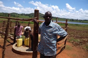 The Water Project: Maiha-Kayanja Community -  Wandera Johnson The Chair Person Wsc