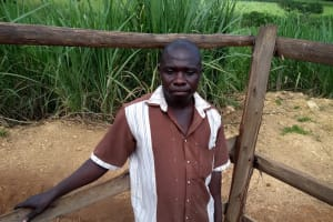 The Water Project: Rubona Kyagaitani Community -  Joseph Nnakimaye The Chair Person Wsc