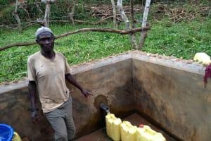 The Water Project: Karongo-Dum Community -  Ochakire Muzamil Water Point Caretaker
