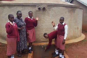 The Water Project: Lureko Girls Secondary School -  March Monitoring Visit