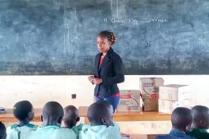 The Water Project: Eshikufu Primary School -  Trainer Betty