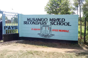 The Water Project: Musango Mixed Secondary School -  School Gate