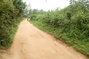 The Water Project: Musango Primary School -  Road Leading To School