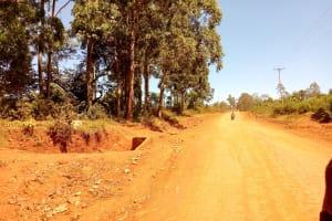 The Water Project: Sango Primary School -  Road Leading Into Sango