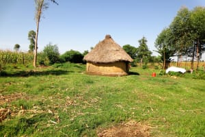 The Water Project: Bukhaywa Community, Asumani Spring -  A Simple Homestead