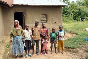 The Water Project: Mukhuyu Community, Kwakhalakayi Spring -  Fridah And Her Family