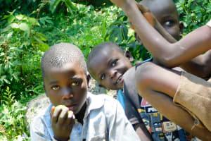 The Water Project: Munenga Community, Burudi Spring -  Community Children
