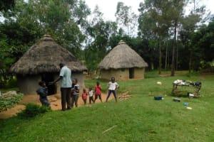 The Water Project: Eshiakhulo Community, Kweyu Spring -  Household