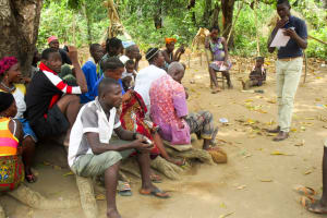 The Water Project: Roloko Community -  Water User Committee Meeting