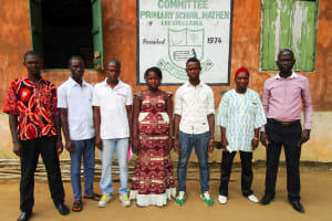 The Water Project: DEC Mathem Primary School -  Water Committee Meeting