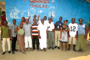 The Water Project: Pewullay Church of God Primary School -  Water User Committee Meeting